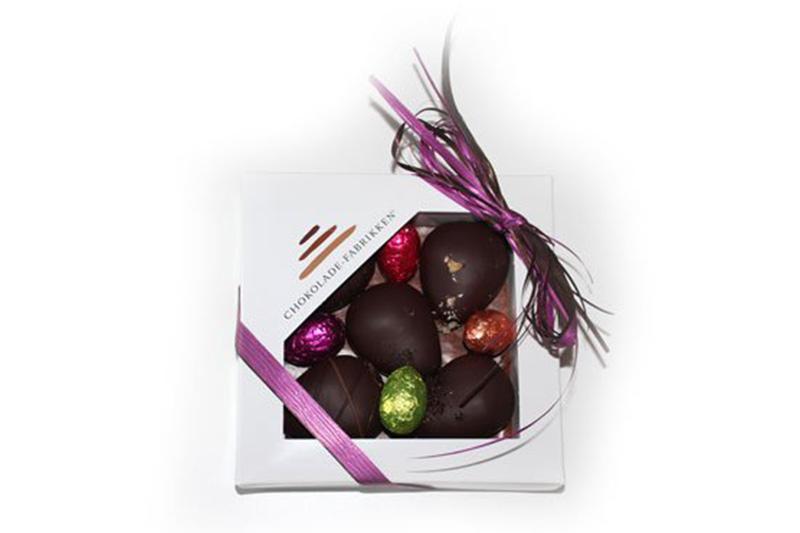 Lækker chokoladeæske til påske